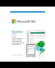 Microsoft 365 Business Standard KLQ-00462 License term 1 year(s), Estonian, Medialess, P6