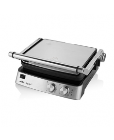 ETA Grill ETA515590000 Party Chef Contact, 2000 W, Stainless steel