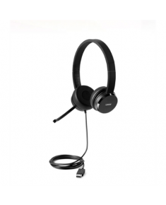 Lenovo 100 USB Stereo Headset Microphone, USB 2.0 Type A