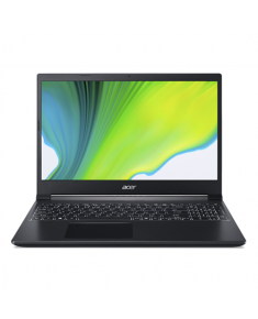 "Acer Aspire 7 A715-41G-R0E0 Charcoal Black, 15.6 "", IPS, FHD, 1920 x 1080 pixels, Matt, AMD, Ryzen 7 3750H, 8 GB, DDR4, SSD 512 GB, NVIDIA GeForce GTX 1650Ti, GDDR6, 4 GB, No ODD, Windows 10 Home, 802.11 ax/ac/a/b/g/n, Bluetooth version 5.0, Keyboard language English, Keyboard backlit, Warranty 24 month(s), Battery warranty 12 month(s)"