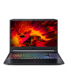 "Acer Nitro 5 AN515-55-589Q Black/Red, 15.6 "", IPS, FHD, 1920 x 1080 pixels, Matt, Intel Core i5, i5-10300H, 8 GB, DDR4, SSD 512 GB, NVIDIA GeForce GTX 1660 Ti, GDDR6, 6 GB, No ODD, Windows 10 Home, 802.11 ax/ac/a/b/g/n, Bluetooth version 5.0, Keyboard language English, Keyboard backlit, Warranty 24 month(s), Battery warranty 12 month(s)"