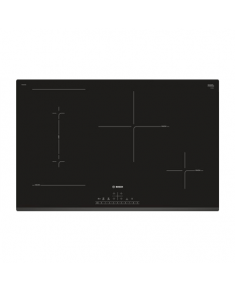 Bosch Hob Serie 6 PVS831FB5E Induction, Number of burners/cooking zones 4, Touch control, Timer, Black, Display