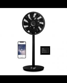 Duux Smart Fan Whisper Flex Smart Black with Battery Pack Stand Fan, Timer, Number of speeds 26, 2-22 W, Oscillation, Diameter 34 cm, Black