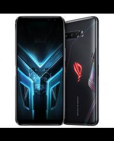"Asus ROG Phone 3 ZS661KS Black Glare, 6.59 "", AMOLED, 1080 x 2340 pixels, Qualcomm SM8250, Snapdragon 865, Internal RAM 8 GB, 256 GB, Dual SIM, Nano-SIM, 3G, 4G, 5G, Main camera 64+13+5 MP, Secondary camera 24 MP, Android, 10, 6000 mAh"