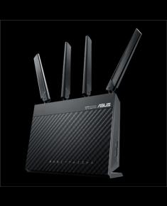 Asus AC1900 Dual Band LTE Router 4G-AC68U 802.11ac, 10/100/1000 Mbit/s, Ethernet LAN (RJ-45) ports 4, Antenna type 2xExternal, USB 3.0 x 1