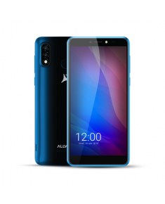 "Allview A20 Lite Blue, 5.7 "", Multitouch capacitive touchscreen, 2.5D, 480 x 960, Cortex-A7 Quad-core, Internal RAM 1 GB, 16 GB, Micro SD, Dual SIM, Micro SIM, 3G, Main camera 5 MP, Secondary camera 2 MP, Android, 10 Go, 2400 mAh"