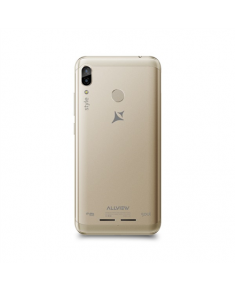 "Allview X5 Soul Style Gold, 6.2 "", HD+ 19:9 with Notch, IPS, 2.5D, INCELL, Full lamination, scratch protection, 720 x 1500, Cortex-A53+ A53 Octa-core Helio P22, Internal RAM 3 GB, 32 GB, Micro SD, Dual SIM, Micro SIM, Nano SIM, 3G, 4G, Main camera 13+2 MP, Secondary camera 8 MP, Android, 8.1, 4000 mAh"