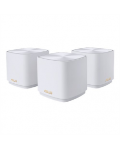 Asus AX1800 Dual-band Mesh WiFi 6 System ZenWiFi AX Mini XD4 802.11ax, 1201+574 Mbit/s, 10 Mbit/s, Ethernet LAN (RJ-45) ports 2, Mesh Support Yes, MU-MiMO Yes, White