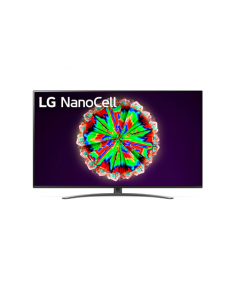 "LG 49NANO813NA 49"" (123 cm), Smart TV, WebOS, 4K UHD Nanocell, 3840 x 2160, Wi-Fi, Black"
