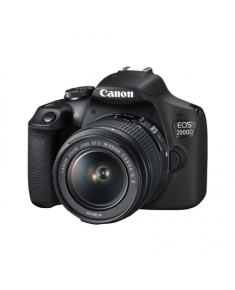 Canon EOS 2000D 18-55 IS + LP-E10 EU26 Black