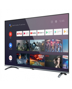 """Allview Smart TV 43ePlay6100-F 43"""" (109 cm), Android 9.0, FHD, 1920 x 1080 pixels, Wi-Fi, DVB-T/T2/C/S/S2, Silver/Black"""