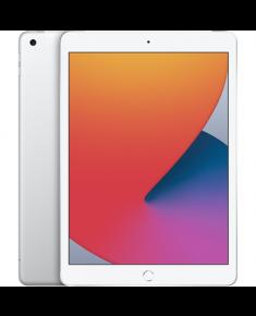 "Apple 8th Gen (2020) iPad Wi-Fi + Cellular 10.2 "", Silver, Retina touch screen with IPS, 2160 x 1620, Apple A12 Bionic, 3 GB, 128 GB, Wi-Fi, Front camera, 1.2 MP, Rear camera, 8 MP, Bluetooth, 4.2, iPadOS"