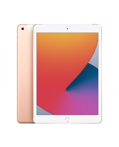 "Apple 8th Gen (2020) iPad Wi-Fi + Cellular 10.2 "", Gold, Retina touch screen with IPS, Apple A12 Bionic, 3 GB, 32 GB, 4G, Wi-Fi, Front camera, 1.2 MP, Rear camera, 8 MP, Bluetooth, 4.2, iOS, 2160 x 1620 pixels"