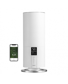 Duux Beam Mini Smart Humidifier DXHU07 20 W, Water tank capacity 3 L, Ultrasonic, Humidification capacity 300 ml/hr, White, 30 m³