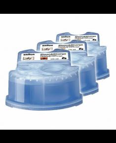 Braun CCR3 Clean & Renew Refill Cartridge, 3 pcs, Blue