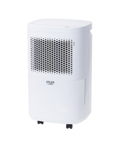 Adler Air Dehumidifier AD 7917 Power 200 W, Suitable for rooms up to 60 m³, Water tank capacity 2.2 L, White