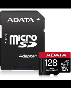 ADATA AUSDX128GUI3V30SHA2-RA1 Memory Card 128 GB, MicroSDXC, Flash memory class 10, Adapter, 80 MB/s, 100 MB/s
