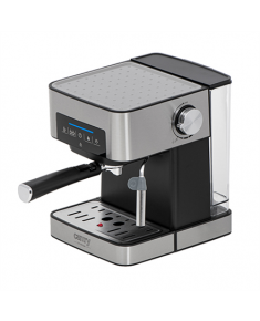 Camry Espresso and Cappuccino Coffee Machine CR 4410 Pump pressure 15 bar, Built-in milk frother, Drip, 850 W, Black/Stainless steel