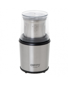 Camry Coffee Grinder CR 4444 200 W, Coffee beans capacity 75 g, Stainless steel/Black