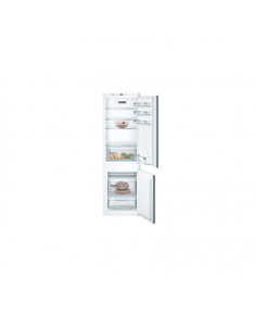 Bosch Serie 4 Refrigerator KIN86VSF0 Energy efficiency class F, Built-in, Combi, Height 177 cm, No Frost system, Fridge net capacity 187 L, Freezer net capacity 67 L, 39 dB, White