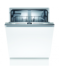 Bosch Dishwasher SBV4HAX48E Built-in, Width 60 cm, Number of place settings 13, Number of programs 6, Energy efficiency class D, Display, AquaStop function, White, Height 86 cm
