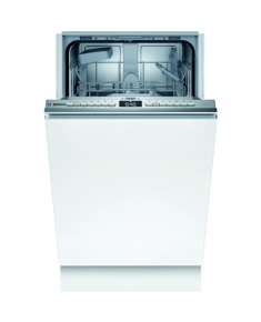 Bosch Dishwasher SPV4HKX45E Built-in, Width 45 cm, Number of place settings 9, Number of programs 5, Energy efficiency class E, White