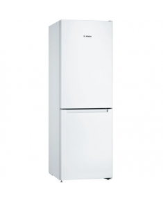 Bosch Serie 2 Refrigerator KGN33NWEB Energy efficiency class E, Free standing, Combi, Height 176 cm, No Frost system, Fridge net capacity 193 L, Freezer net capacity 89 L, 42 dB, White