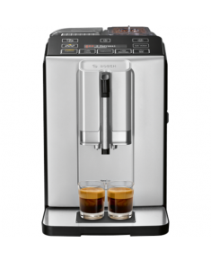 Bosch Coffee Maker TIS30321RW VeroCup 300 Pump pressure 15 bar, Built-in milk frother, Fully Automatic, 1300 W, Silver