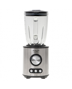 Adler Blender AD 4078 Tabletop, 1700 W, Jar material Glass, Jar capacity 1.5 L, Ice crushing, Stainless steel