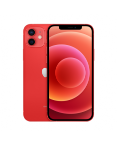 "Apple iPhone 12 Red, 6.1 "", XDR OLED, 2532 x 1170 pixels, Apple, A14 Bionic, Internal RAM 4 GB, 64 GB, Single SIM, Nano-SIM and eSIM, 3G, 4G, 5G, Main camera Dual 12+12 MP, Secondary camera 12 MP, iOS, 14, 2815 mAh"