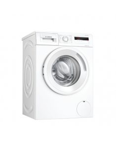 Bosch Serie 4 Washing Machine WAN280L2SN Energy efficiency class D, Front loading, Washing capacity 7 kg, 1400 RPM, Depth 55 cm, Width 60 cm, Display, LCD, White
