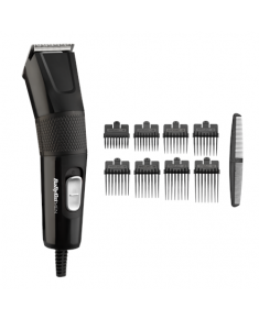 BABYLISS Hair Clipper E756E Performance Endurance Hair Cliper, Number of length steps 8, Black