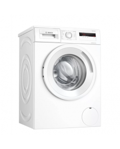Bosch Serie 4 Washing Machine WAN240L2SN Energy efficiency class D, Front loading, Washing capacity 7 kg, 1200 RPM, Depth 55 cm, Width 60 cm, Display, LCD, White