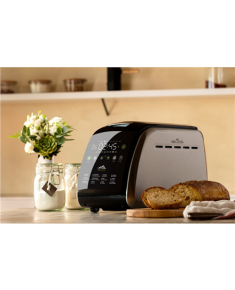 ETA Bread maker Delicca II ETA714990030 Power 850 W, Number of programs 12, Display Yes, Black/Stainless steel