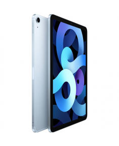"Apple 4th Gen (2020) iPad Air + Cellular 10.9 "", Sky Blue, Liquid Retina touch screen with IPS, Apple A14 Bionic, 256 GB, 4G, Wi-Fi, Front camera, 7 MP, Rear camera, 12 MP, Bluetooth, 5.0, iPadOS, 14, 2360 x 1640 pixels"