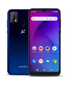 "Allview A20 Max Blue, 6.25 "", 1014 x 480, Cortex-A7 Quad-core, Internal RAM 1 GB, 16 GB, Micro SD, Dual SIM, Micro SIM, 3G, Main camera 8+0.3 MP, Secondary camera 5 MP, Android, 10.0, 3800 mAh"