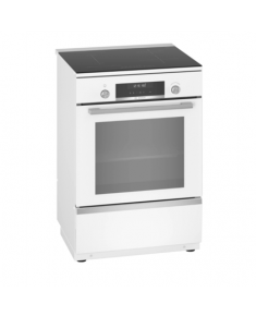 Bosch Cooker HLS79W320U Integrated timer, Hob type Induction, Oven type Electric, White, Width 60 cm, Electronic ignition, Grilling, Digital, 63 L, Depth 60 cm