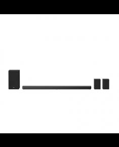 LG 7.1.4ch Hi-Res Dolby Atmos Soundbar with Meridian Technology SN11R Bluetooth, Wireless connection, Black, 770 W
