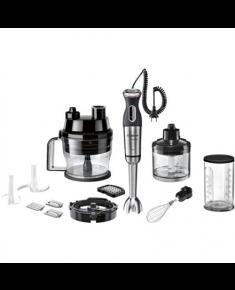Bosch Blender MaxoMixx MS8CM61X1 Hand Blender, 1000 W, Number of speeds 12, Turbo mode, Chopper, Black/Stainless steel