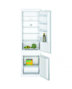 Bosch Serie 2 Refrigerator KIV87NSF0 Energy efficiency class F, Built-in, Combi, Height 177 cm, Fridge net capacity 200 L, Freezer net capacity 70 L, 39 dB, White