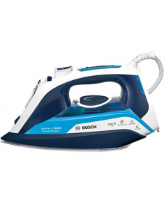 Bosch Steam Iron TDA5024210 2400 W, Water tank capacity 350 ml, Continuous steam 40 g/min, Steam boost performance 180 g/min, Blue/White