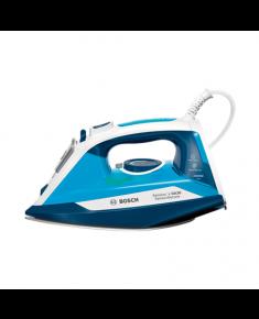 Bosch Steam Iron TDA3024210 2400 W, Water tank capacity 320 ml, Continuous steam 40 g/min, Steam boost performance 150 g/min, Blue/White