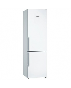 Bosch Refrigerator KGN39VWEP Energy efficiency class E, Free standing, Combi, Height 203 cm, No Frost system, Fridge net capacity 279 L, Freezer net capacity 89 L, 39 dB, White