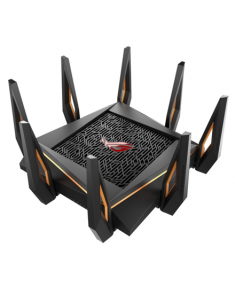 Asus GT-AX11000 Tri-band WiFi Gaming Router ROG Rapture 802.11ax, 10/100/1000 Mbit/s, Ethernet LAN (RJ-45) ports 4, Antenna type 8xExternal, 2 x USB 3.1 Gen 1