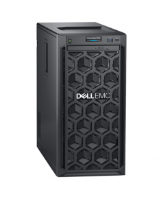 """Dell PowerEdge T140 Tower, Intel Xeon, E-2224, 3.4 GHz, 8 MB, 4T, 4C, UDIMM DDR4, 2666 MHz, No RAM, No HDD, Up to 4 x 3.5"""", Embedded SATA, Single Cabled, Power supply 365 W, iDRAC 9 Basic, No Rails, No OS, Warranty Basic Onsite 36 month(s)"""