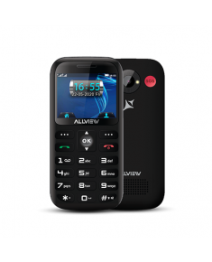 "Allview D3 Senior Black, 2.31 "", TFT, 240 x 320 pixels, 8 MB, 16 MB, Dual SIM, Mini SIM, 3G, Bluetooth, 2.1, Built-in camera, Main camera 2 MP, 1400 mAh"