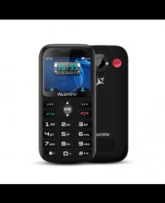 "Allview D3 Senior Black, 2.31 "", TFT, 240 x 320 pixels, 8 MB, 16 MB, Dual SIM, Mini SIM, 3G, Bluetooth, 2.1, Built-in camera, Main camera 2 MP, 1400 mAh"