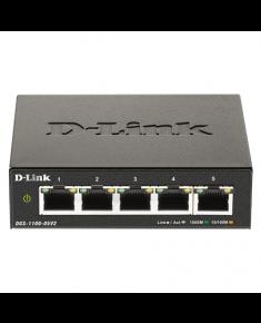 D-Link 5-Port Gigabit Smart Managed Switch DGS-1100-05V2 Managed, Desktop, Power supply type External, Ethernet LAN (RJ-45) ports 5