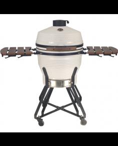 """TunaBone Kamado Pro 22"""" grill Size M, White"""