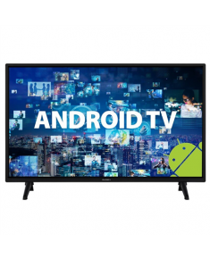 "GoGen LED Smart TV GOGTVH32J536GWEB 32"" (80 cm), Smart TV, Android, HD Ready, 1366 × 768, Wi-Fi, DVB-C/S2/T2, Black"